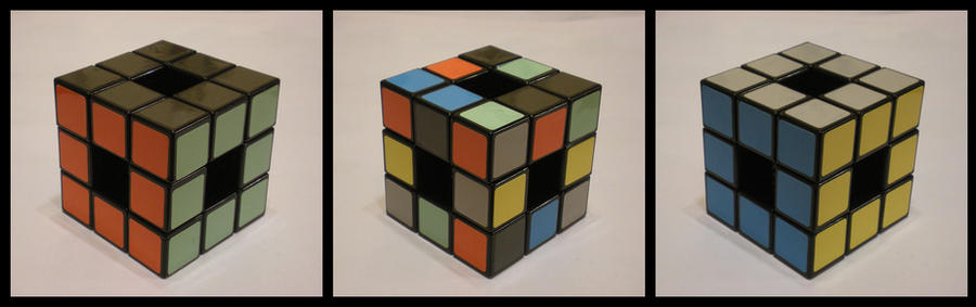 3x3x3 Void cube by Syns-Stuff