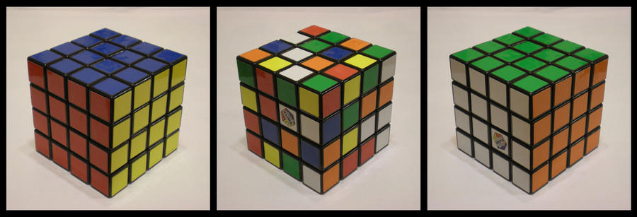 4x4x4 Basic Cube by Syns-Stuff