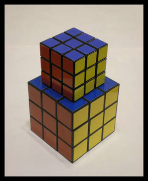 3x3x3 Large Cube by Syns-Stuff