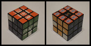 3x3x3 England cube by Syns-Stuff