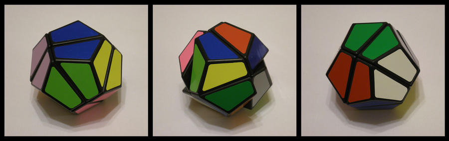 12 Colour 2x2x2 Cube by Syns-Stuff