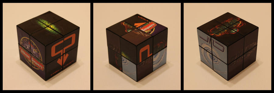2x2x2 Alton Towers cube by Syns-Stuff