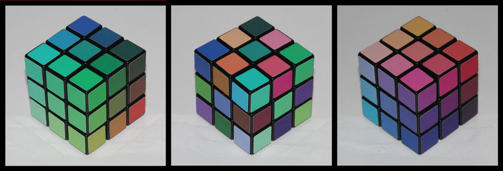3x3x3 Tone Cube by Syns-Stuff