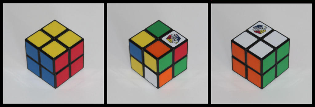 2x2x2 Rubik's Cube by Syns-Stuff