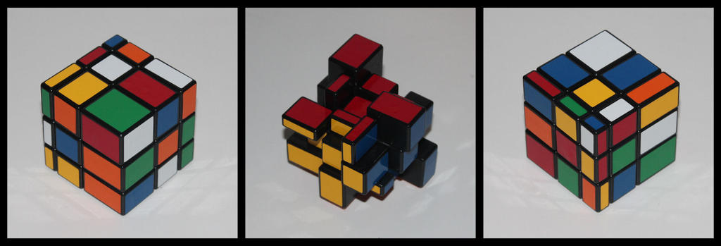 Two Solution Bump Cube by Syns-Stuff