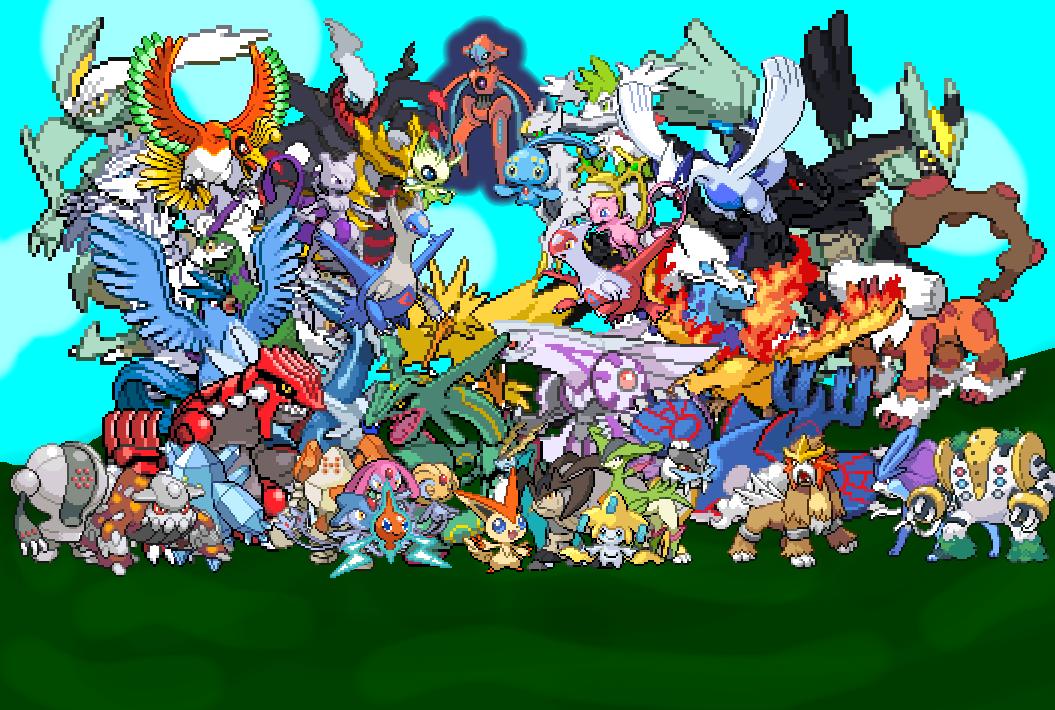 All Legendary Pokemon By 3dBeasts
