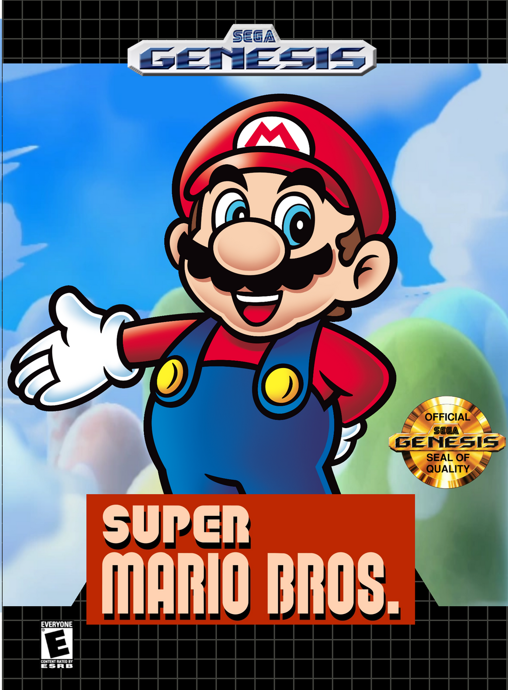 Super Mario Bros For Sega Genesis FanMade by