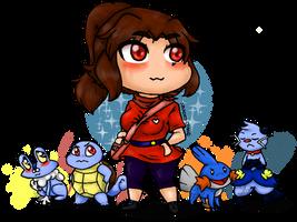 Pokemon Team by Nakomy-Chan