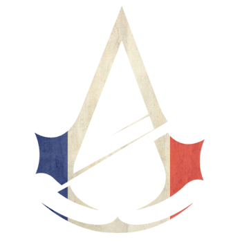 Assassin S Creed Unity Logo French Flag By Dragoninthemoon2234