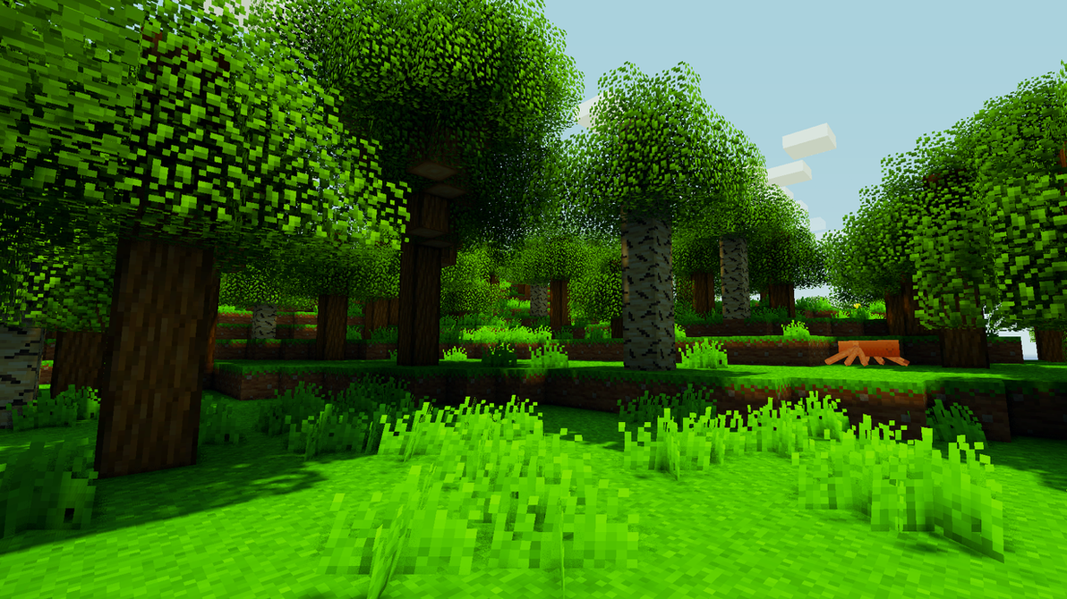 Wonderful Wallpaper Minecraft Forest - saturated_leaves_in_a_painted_forest_by_sethris134-d4rzg0j  2018_139337.png