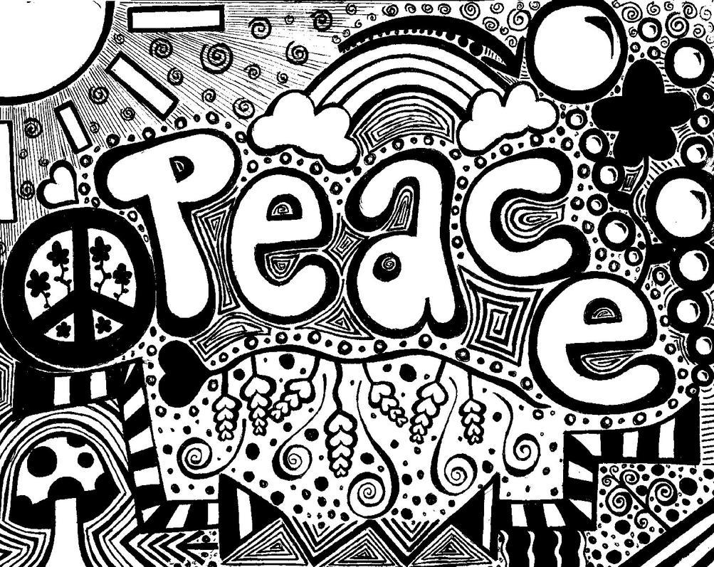 Peace Doodle By Kacedilla On DeviantArt
