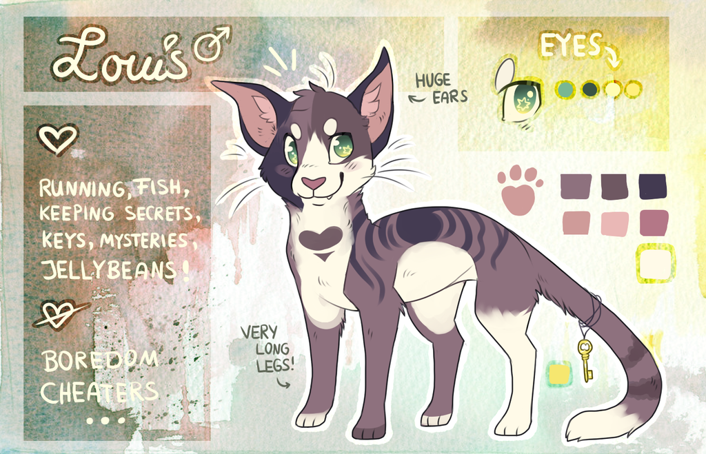 Louis Ref Sheet by Fayven