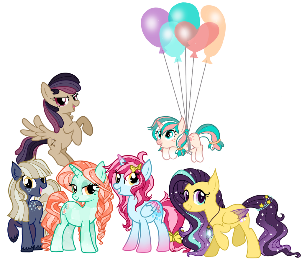 My Mane Six by Fayven