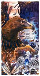 Hogwarts Bookmarks - Ravenclaw by Fayven