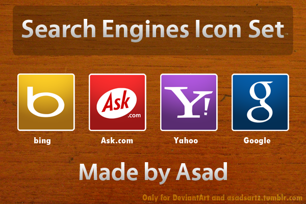 Search Engines Icon Set By Coolboyasad12 On DeviantArt