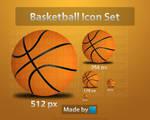BasketBall Icon Set by Coolboyasad12