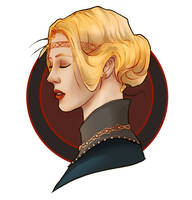 Eowyn, daughter of Eomund by TheWatcherHabitat