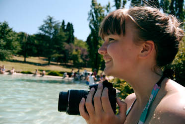 ROMA-Nora Loves Her Camera ? And Villa Borghese by HIDDENinDREAM