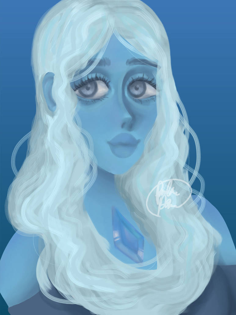 Blue diamond from Steven universe  I don't post on here oof