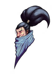 Yasuo Portrait by advexdesign