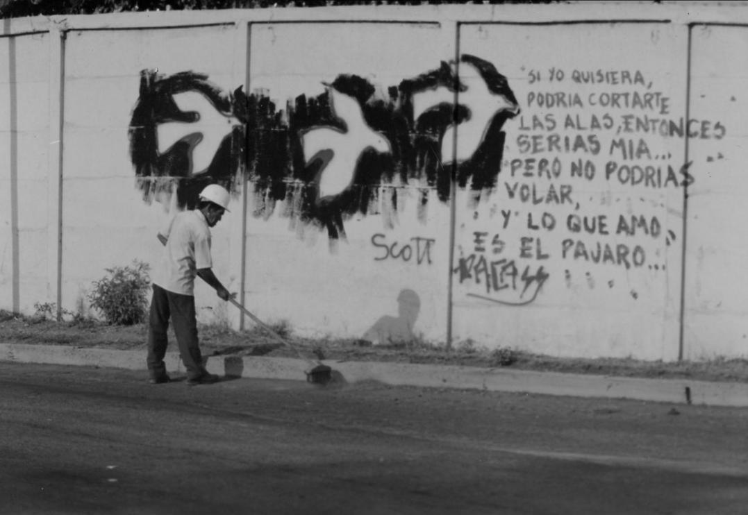 Nicaraguan Grafitti by 0faith0