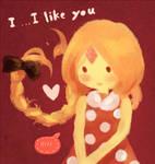 I....I like you
