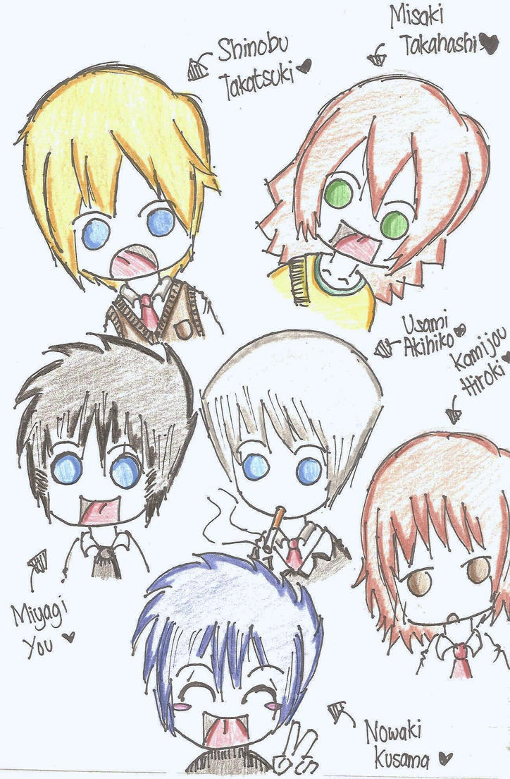 Chibi Junjou Romantica by UsagiUsami on DeviantArt