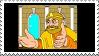 You Saved Me stamp by Mah-Boi-Club