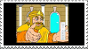 The King's Wii stamp by Mah-Boi-Club
