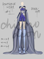 OPEN- ADOPTABLE OUTFIT #1 AUCTION by Ghostlynight-Jamaa