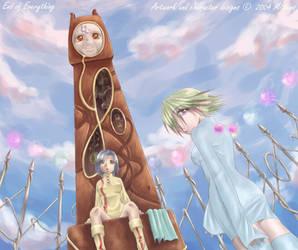 Abeni and Arrely by Pinkbunni