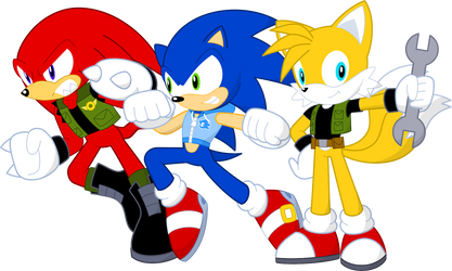 Team Sonic by neoeclipseworld