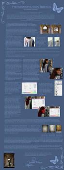 Photomanipulation tutorial by AmarieVeanne