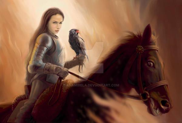 young warrior 2 by anamirela