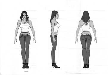 bodybuilder gal by anamirela