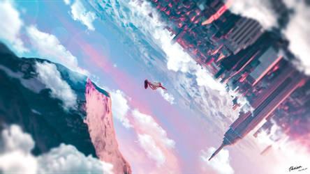 Flying-so-hight-landscape