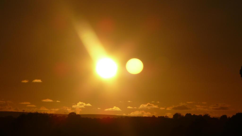 Dual Sunset by DarkestPhotographer