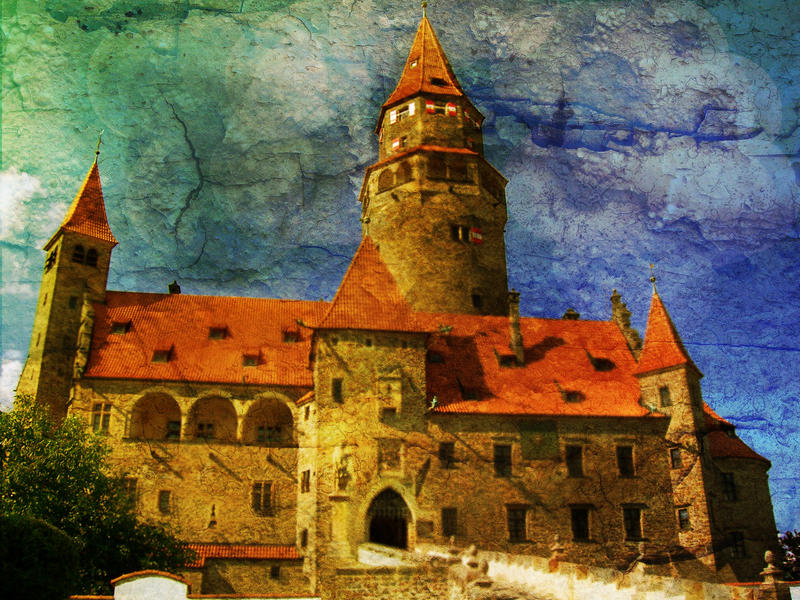 Castle by Ewanecka