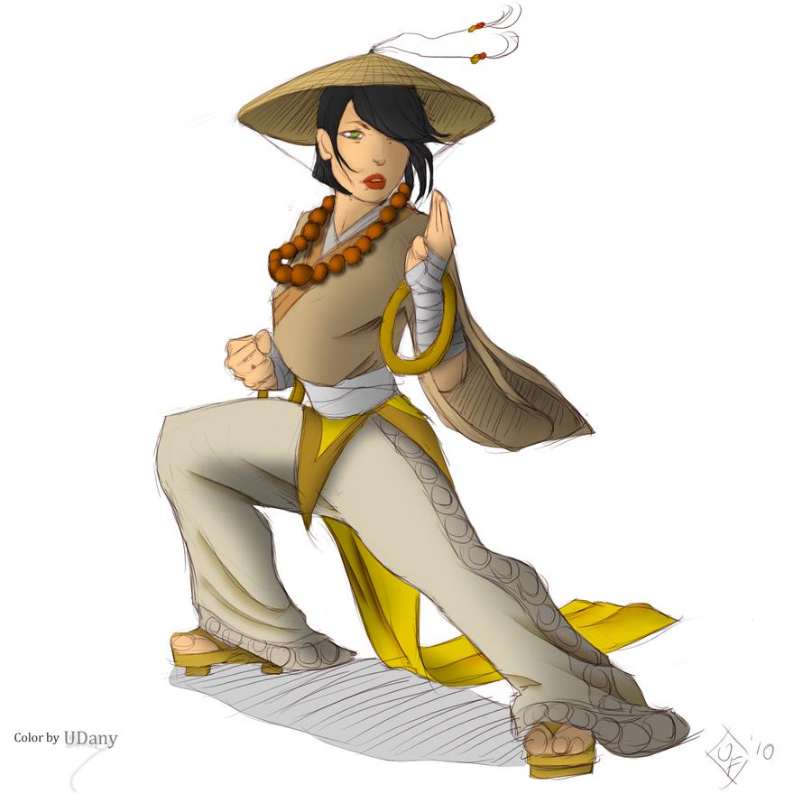 Diablo 3 Monk concept by miraikage