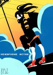 Headphone Actor by chibiYami