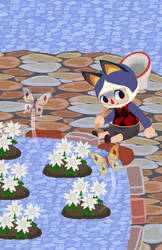 Rover gardening event by AisuRoma
