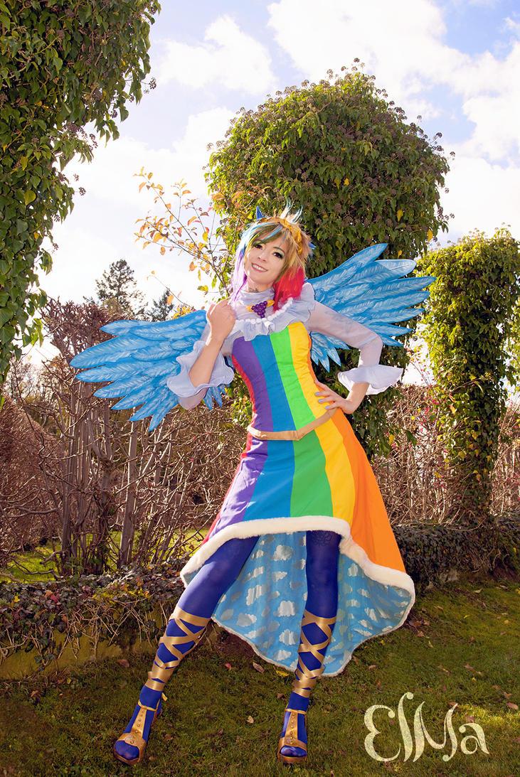 MLP : Rainbow Dash by elsch