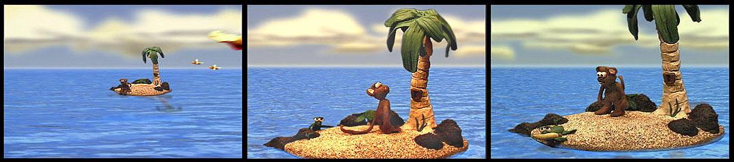 Monkey Island by matic