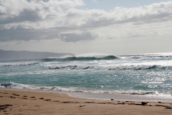 Wavy Beach by PersephoneStock