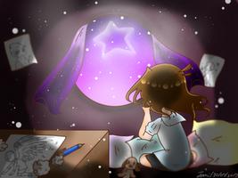 Waving stars by nuttalat