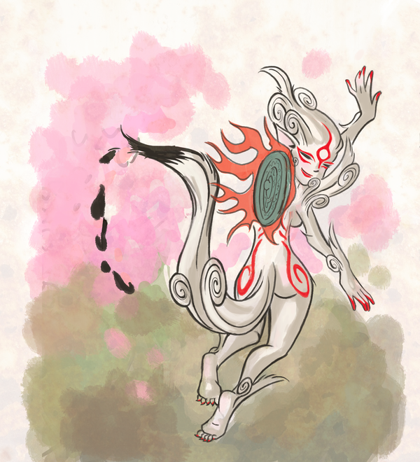 Lady Ameteratsu by DivaLea