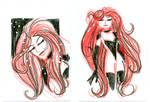 Medusa Sketchcards 1