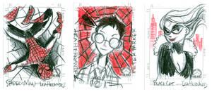Sketchcards: Spider-Man