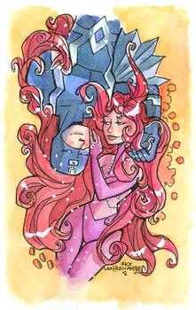 Medusa and Black Bolt