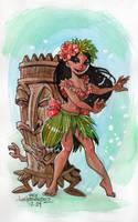 Tiki Hula by DivaLea